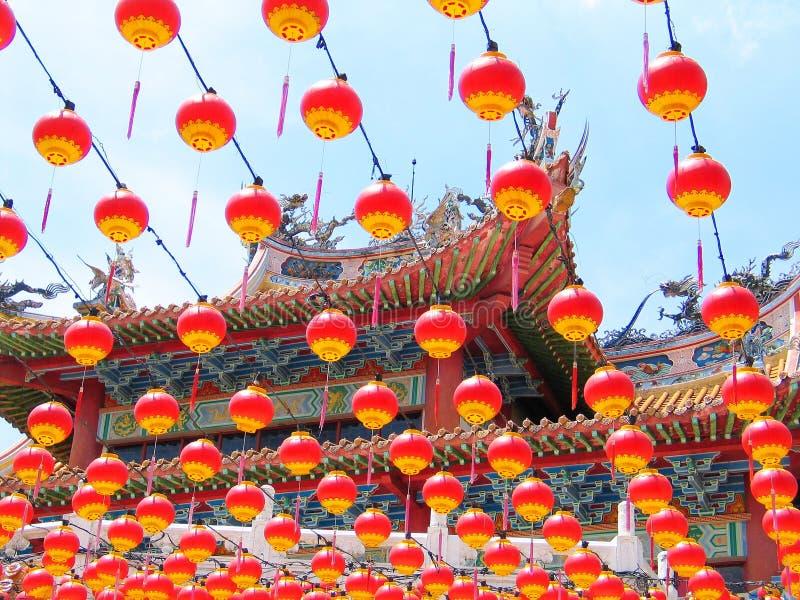 chiński latarnia fotografia stock