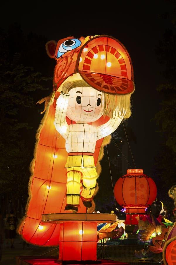 chiński latarnia smoka obraz stock