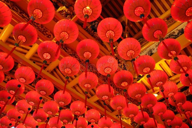 chiński latarniowy nowy rok obrazy stock