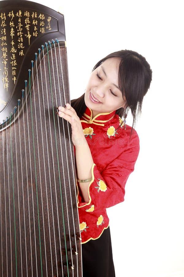 chiński muzyk zdjęcia stock