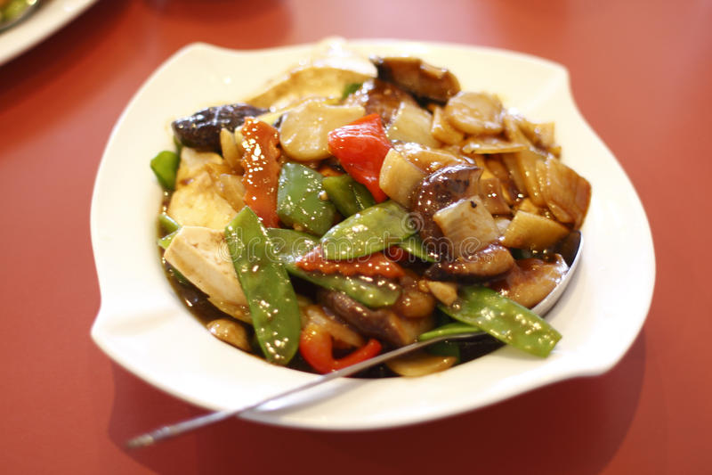 chiński naczynia tofu jarosz fotografia stock