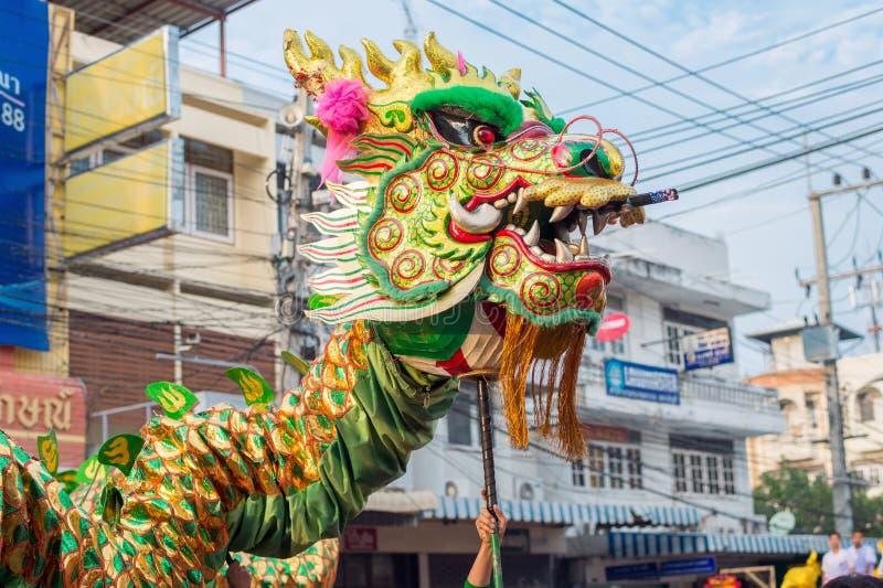 Chiński nowego roku świętowanie w Tajlandia obraz stock