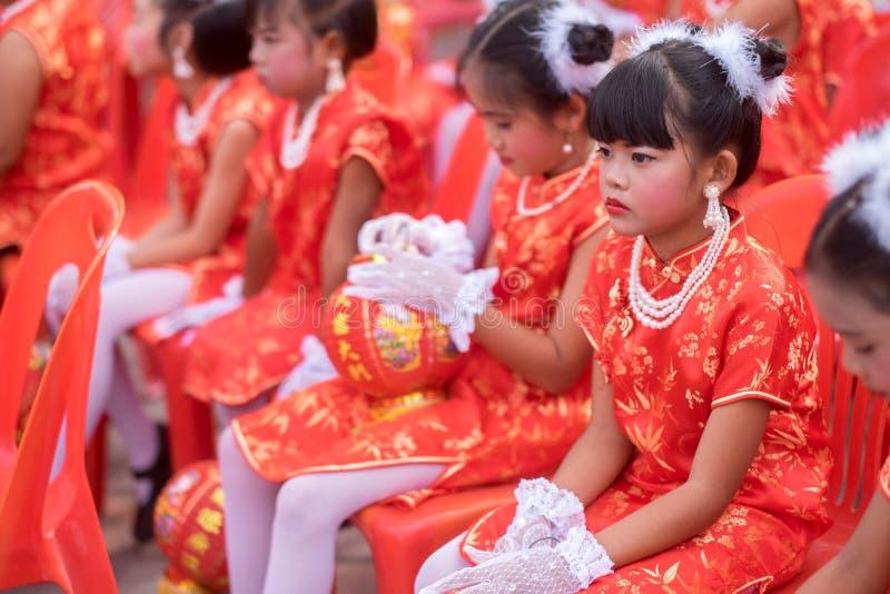 Chiński nowego roku świętowanie w Tajlandia zdjęcia stock