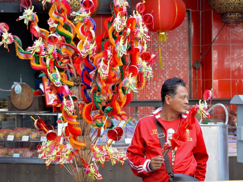 Chiński nowego roku festiwalu 2016 wydarzenie, Bangkok, Tajlandia zdjęcia stock