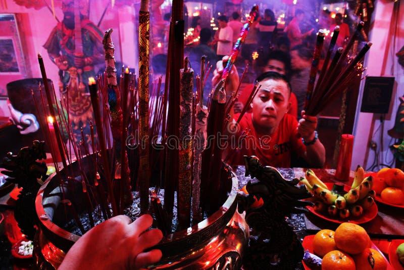 Chiński nowy rok 2015 zdjęcie royalty free