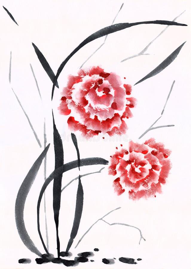 Chiński obraz ilustracji