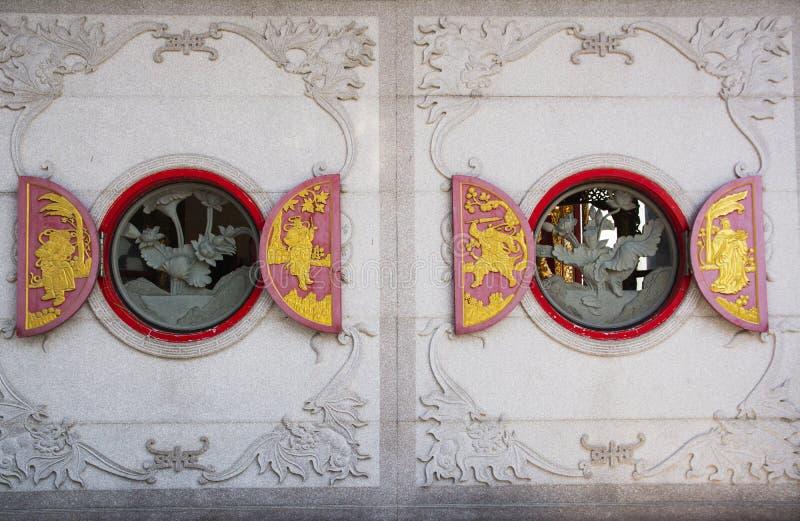 chiński okno zdjęcia royalty free