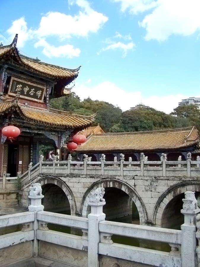 chiński pałacu zdjęcia stock