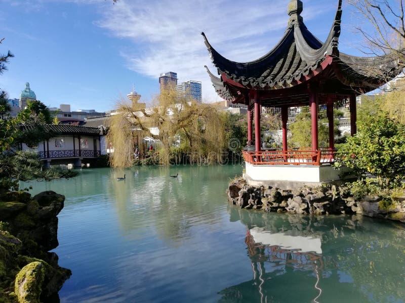 chiński park fotografia stock