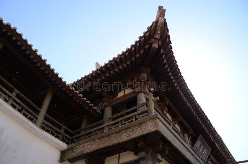 Chiński pawilon przy Dunhuang obrazy royalty free
