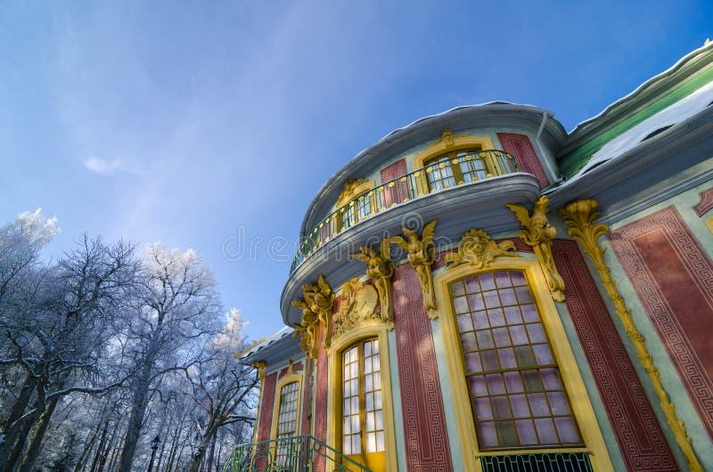 Chiński pawilon przy Drottningholm fotografia stock