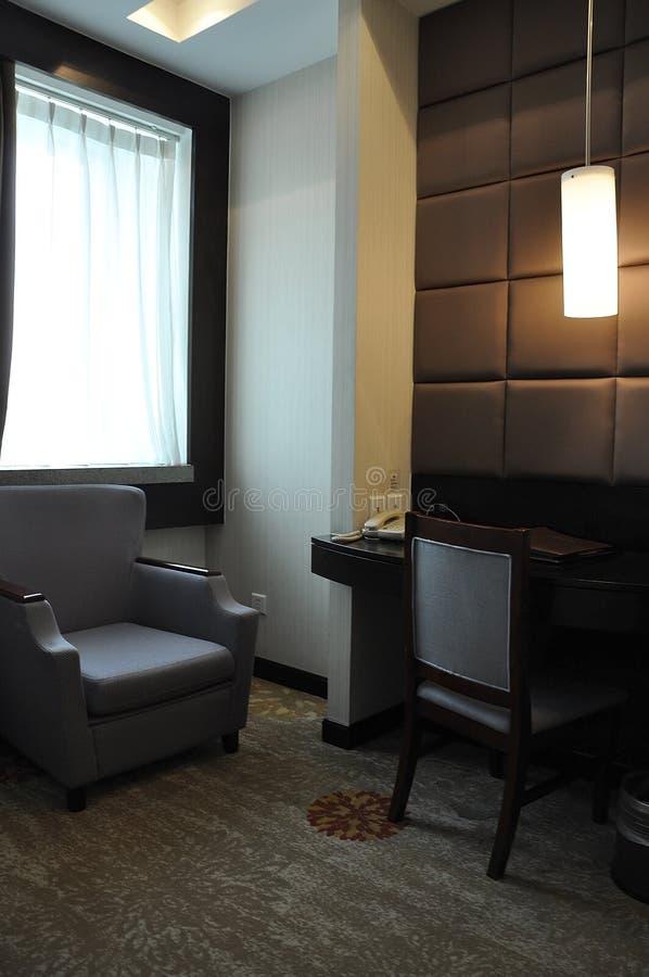 Chiński pokoju hotelowego wnętrze od Pekin zdjęcia stock