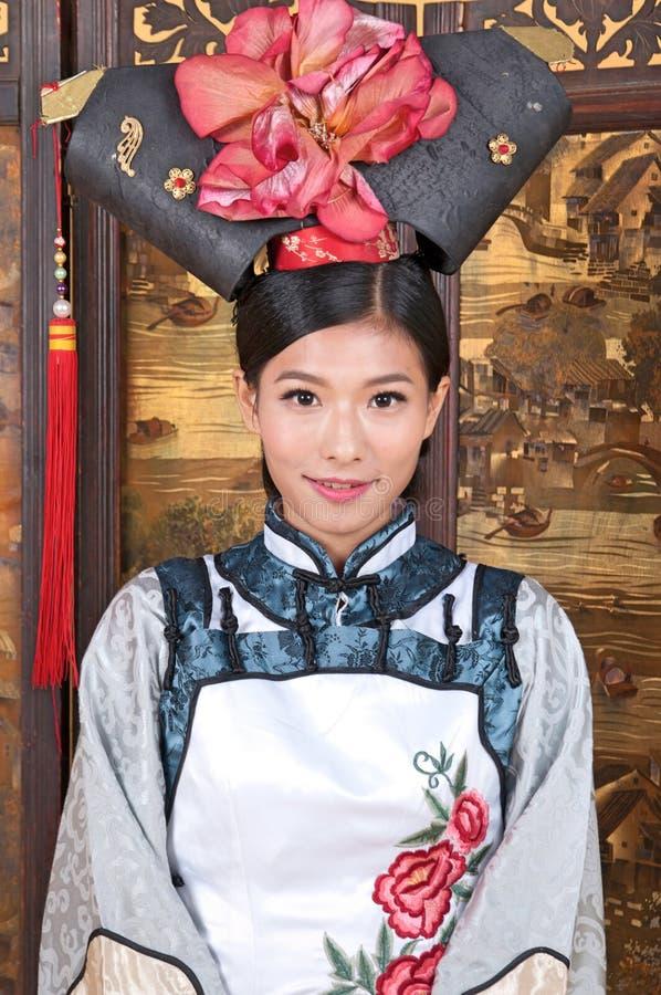 Chiński princess fotografia royalty free