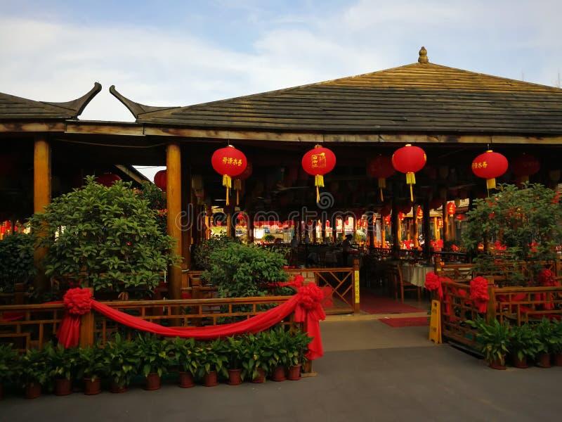 chiński restauracyjny tradycyjny zdjęcie stock