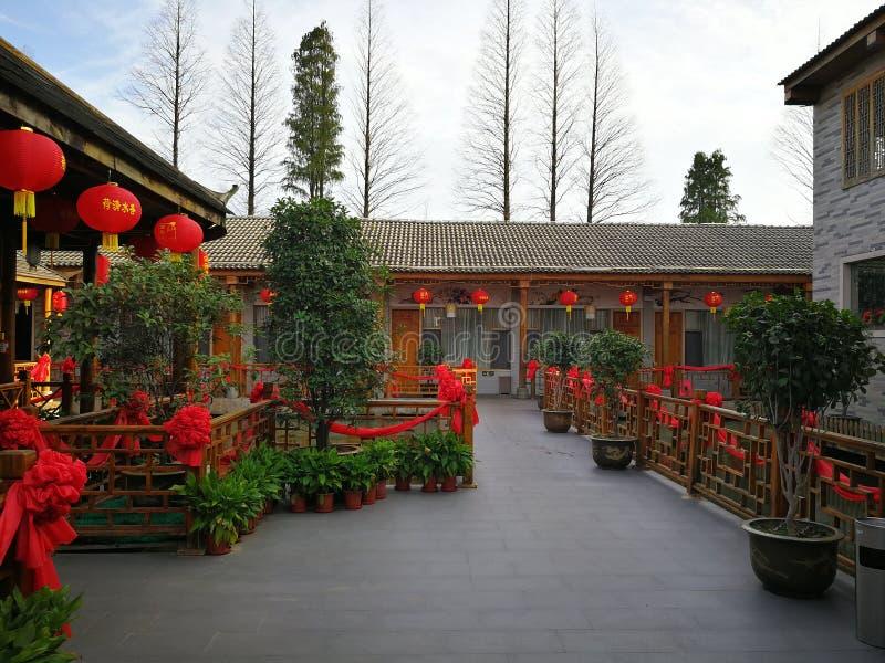 chiński restauracyjny tradycyjny fotografia royalty free