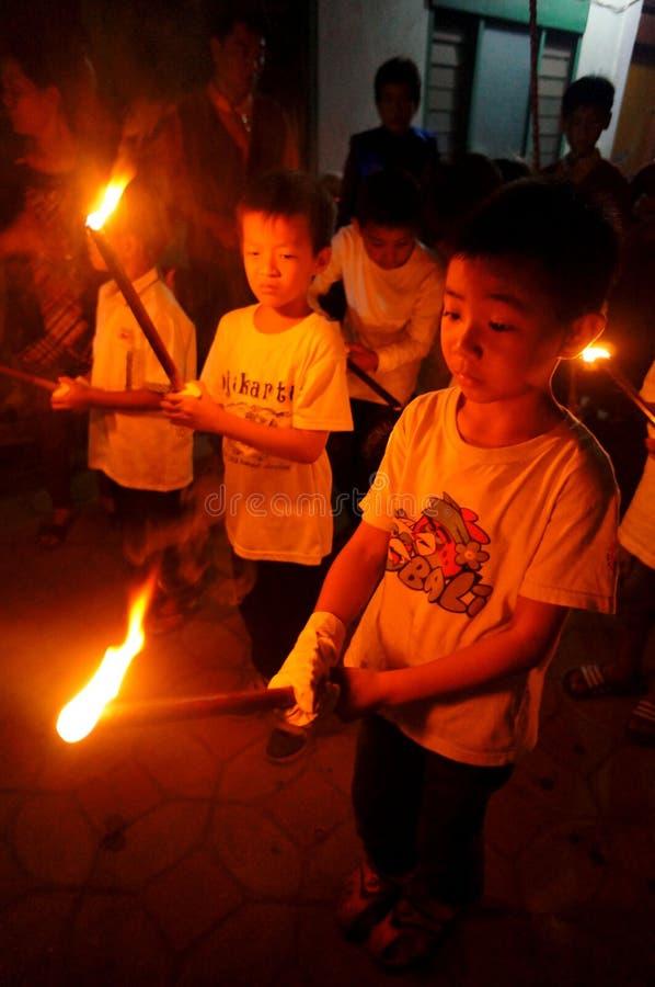 Chiński rytuał zdjęcie stock