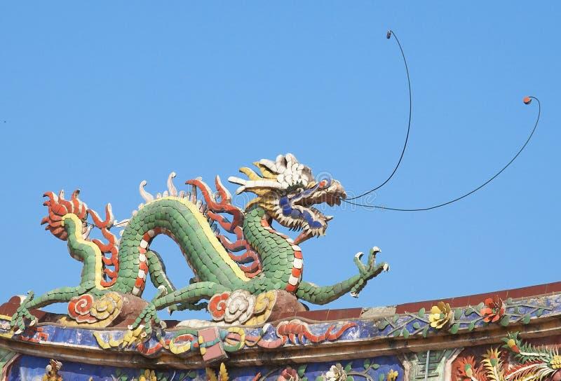 chiński smoka feng shui fotografia stock