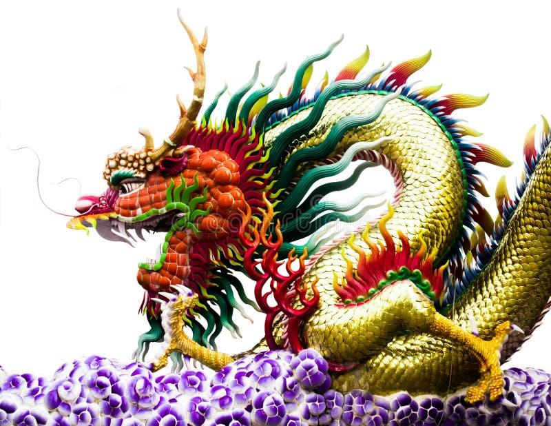 Chiński smoka odosobnienie ŻADNY 02 zdjęcie stock