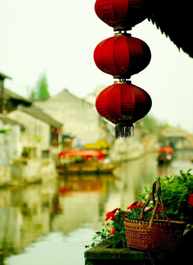 chiński starego miasta. fotografia royalty free