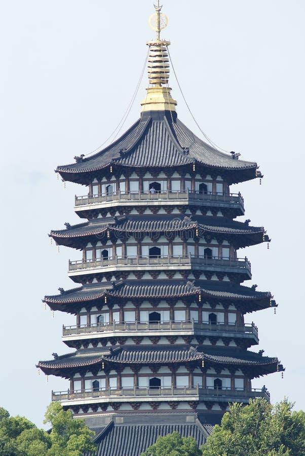 chiński stupy wierza zdjęcia royalty free