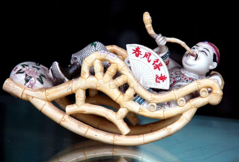 chiński szczęściarz stary zdjęcie royalty free
