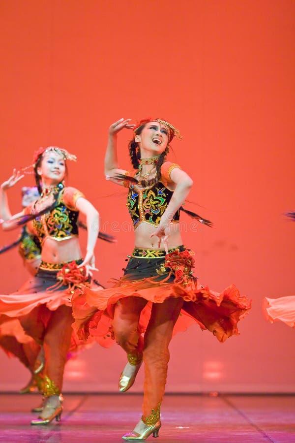 chiński taniec ludzi fotografia stock