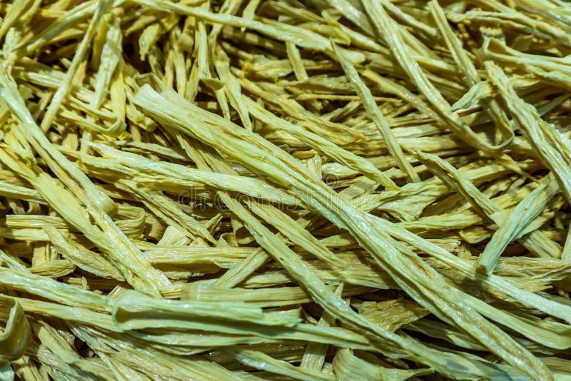 Chiński Tofu bambus fotografia stock