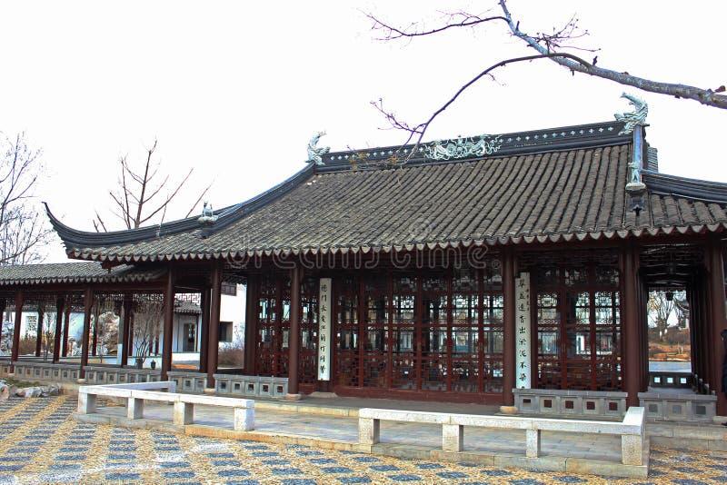Chiński tradycyjny mały budynek fotografia royalty free