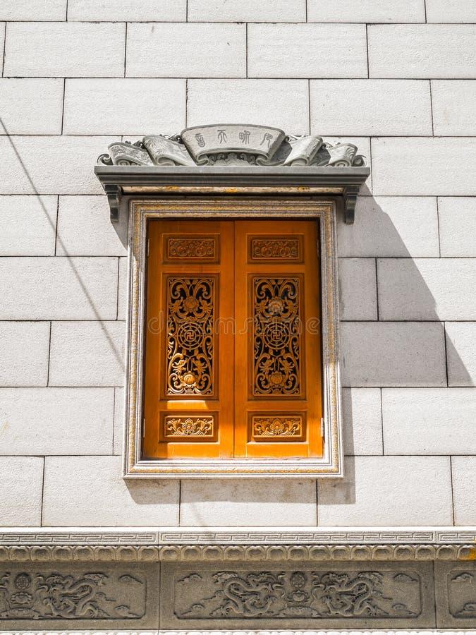chiński tradycyjny okno zdjęcia stock