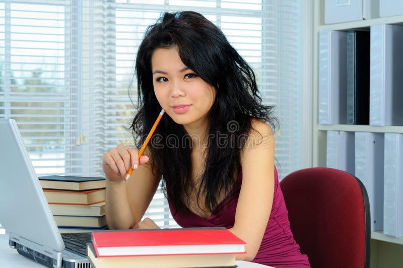 chiński uczeń zdjęcie stock