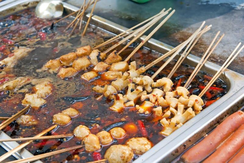 Chiński uliczny jedzenie obraz stock