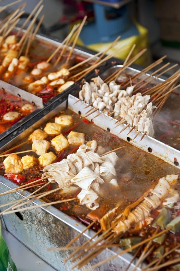 Chiński uliczny jedzenie zdjęcie stock