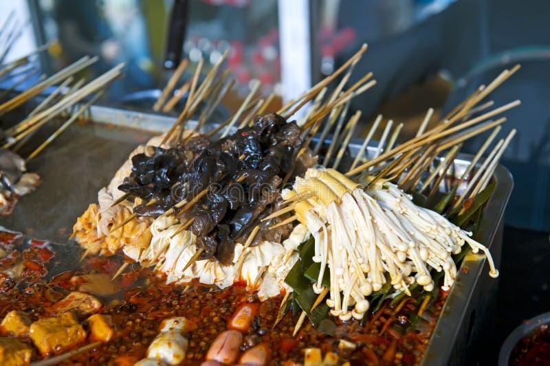Chiński uliczny jedzenie fotografia stock