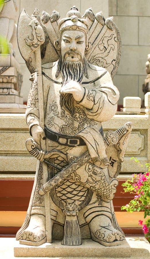 chiński wojownik kamieni zdjęcia stock