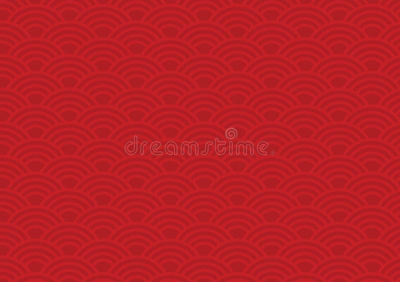 chiński wzór zdjęcie stock