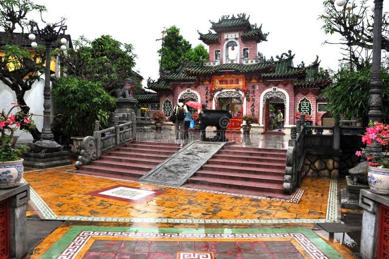 Chiński zgromadzenie Hall, Hoi, Wietnam zdjęcia royalty free