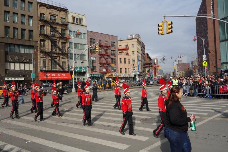 2014 Chińskich nowy rok świętowań W NYC 5 obraz royalty free