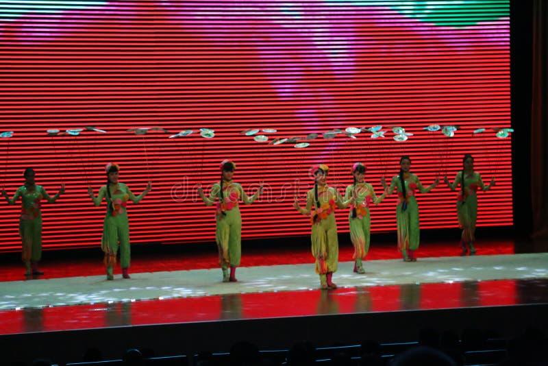 Chińskie gimnastyki fotografia royalty free