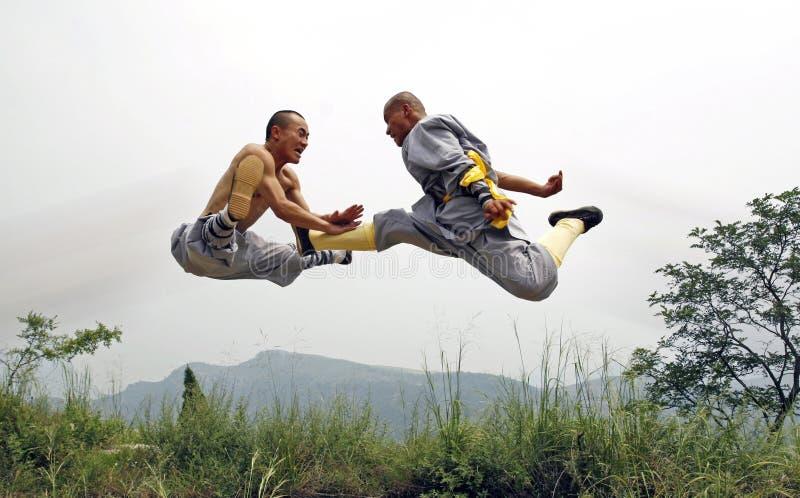 chińskie kung fu zdjęcia royalty free