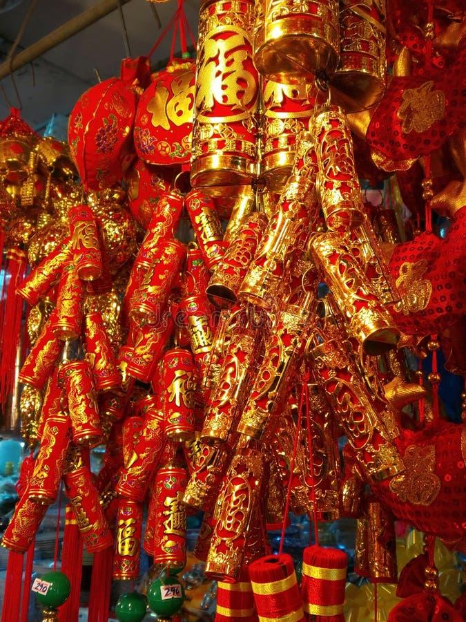 Chińskie petardy zdjęcie stock