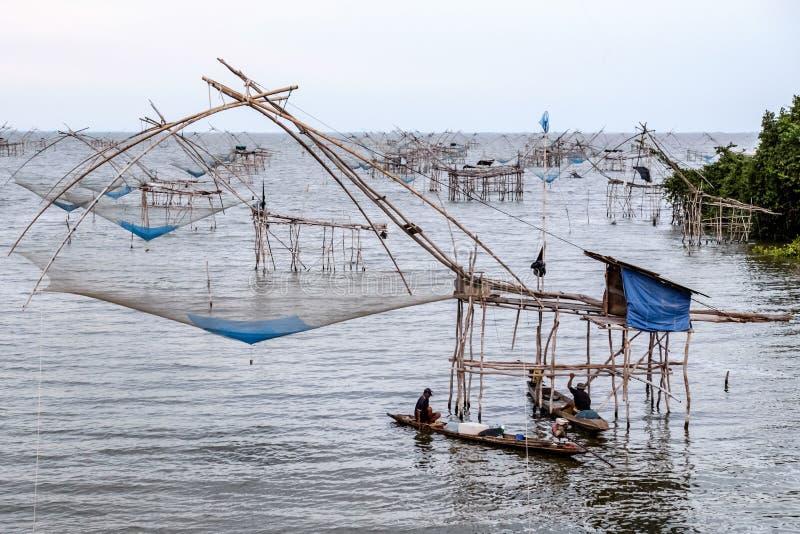 chińskie sieci rybackich fotografia royalty free