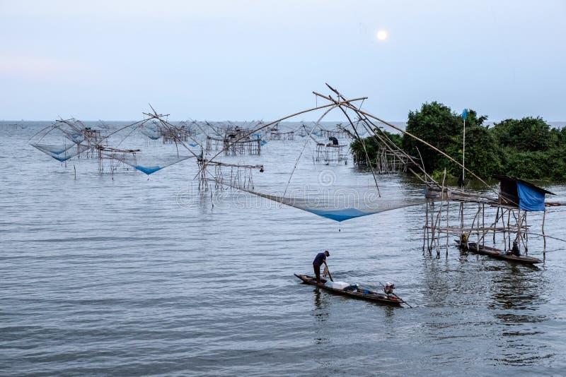 chińskie sieci rybackich zdjęcia royalty free