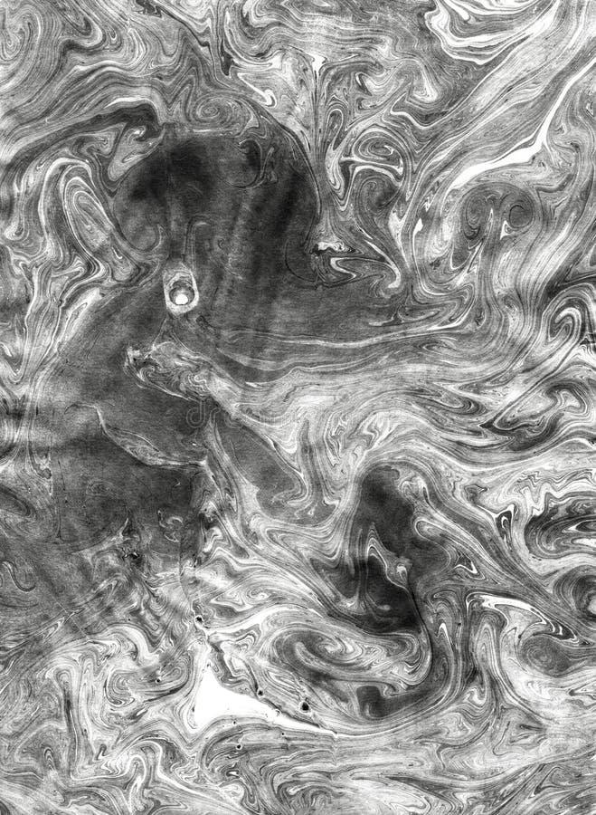 Chińskiego atramentu skutka miękka tekstura zdjęcie stock