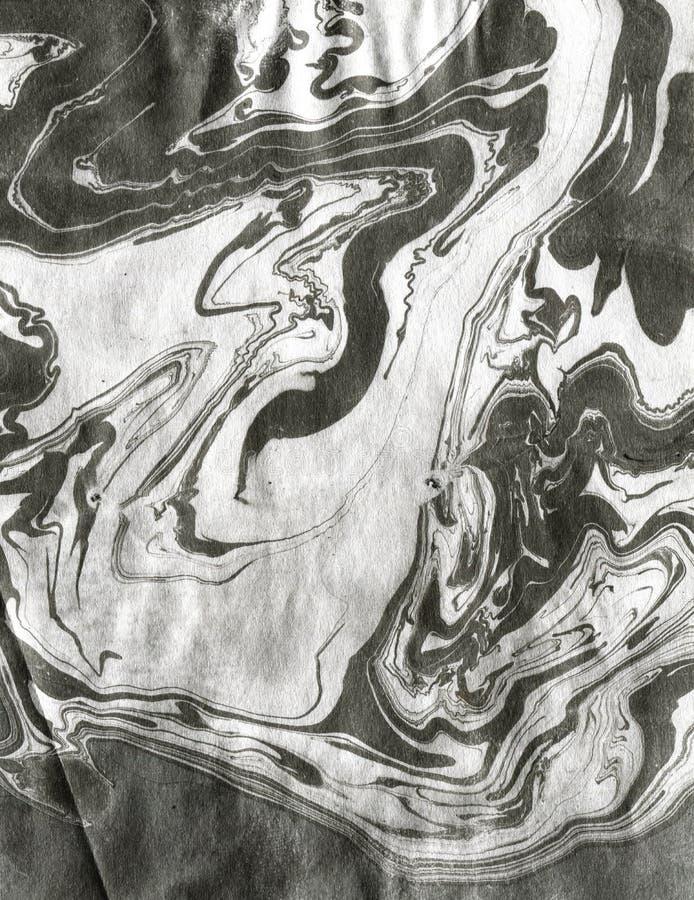 Chińskiego atramentu skutka miękka tekstura fotografia stock