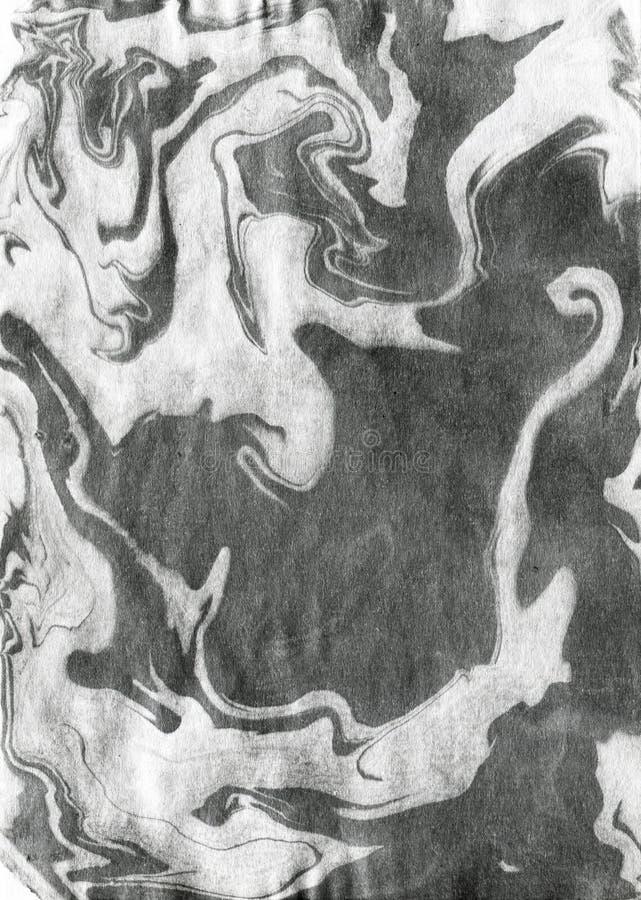 Chińskiego atramentu skutka miękka tekstura obraz royalty free