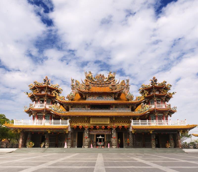 chińskiego klasyka świątynia obrazy royalty free