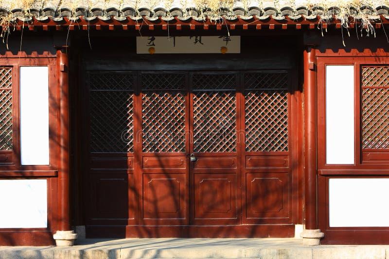 chińskiego klasyka dom zdjęcia stock