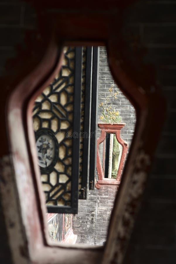 Chińskiego stylu architektura obrazy royalty free