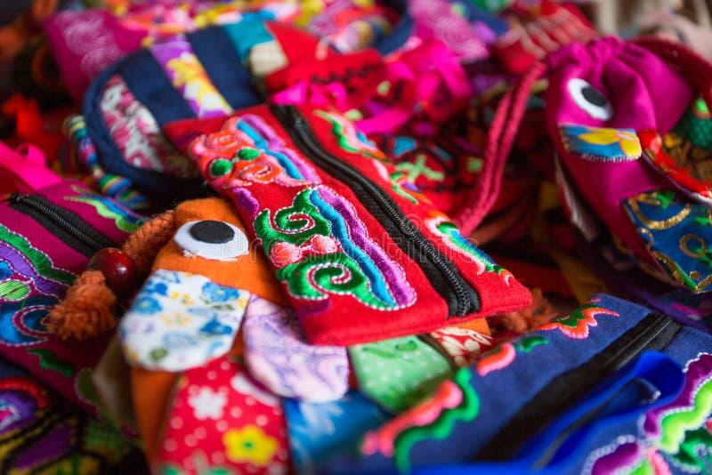 Chińskiego stylu torba zdjęcia royalty free