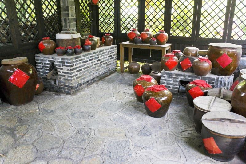 chińskiego trunku tradycyjni łzawicy zdjęcia royalty free
